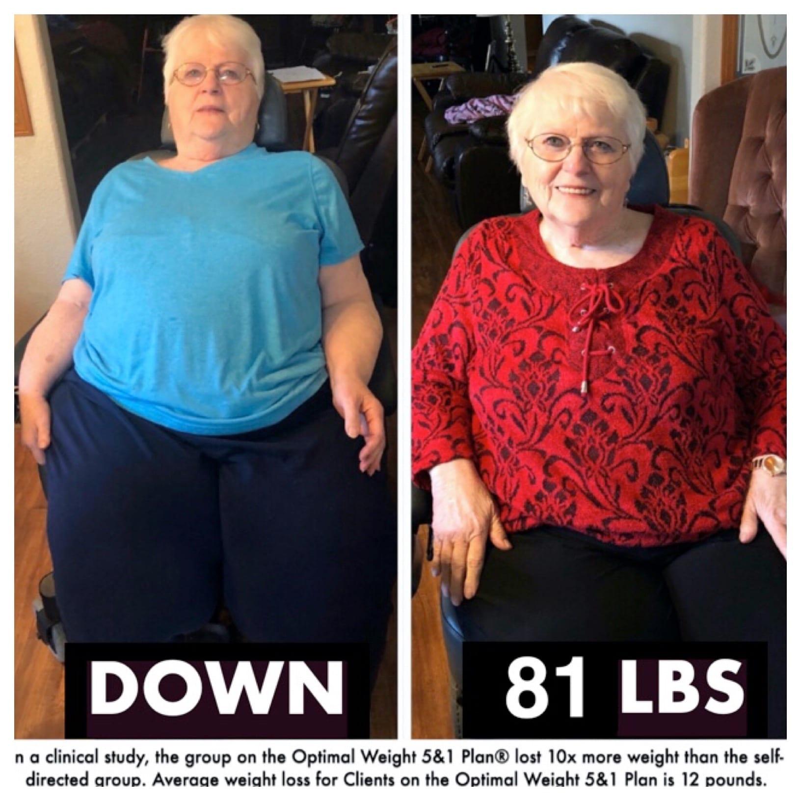 Rosalie Birdsong 81 lbs